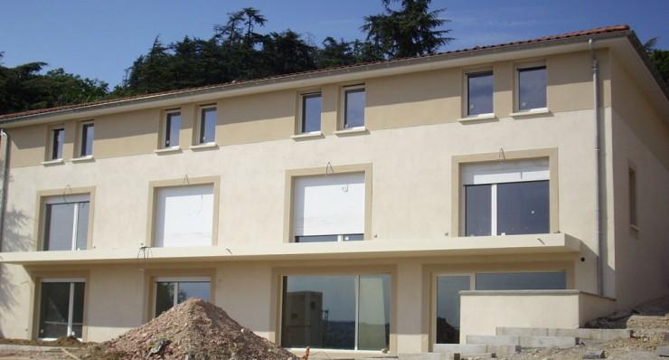 Logements - Commerce - Saint Cyr sur Rhône (69)