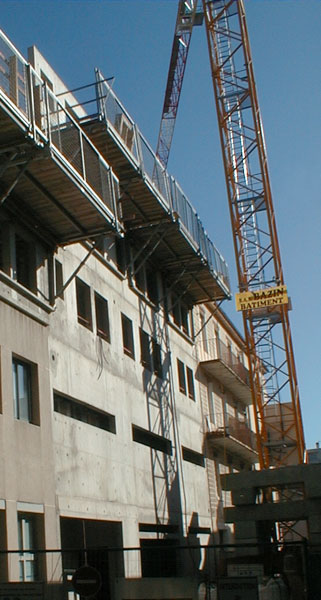Immeuble de logements Les Jardins de Ville - Vienne (38)