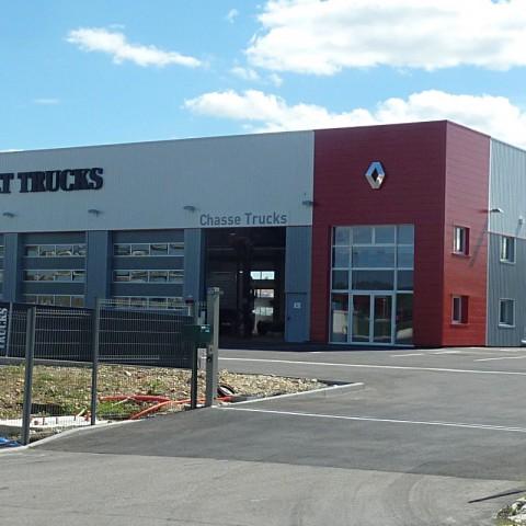Renault Trucks - Chasse sur Rhône (38)