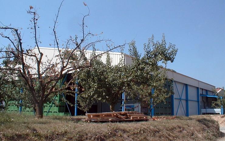 Extension bâtiment de stockage agricole - St Prim (38)