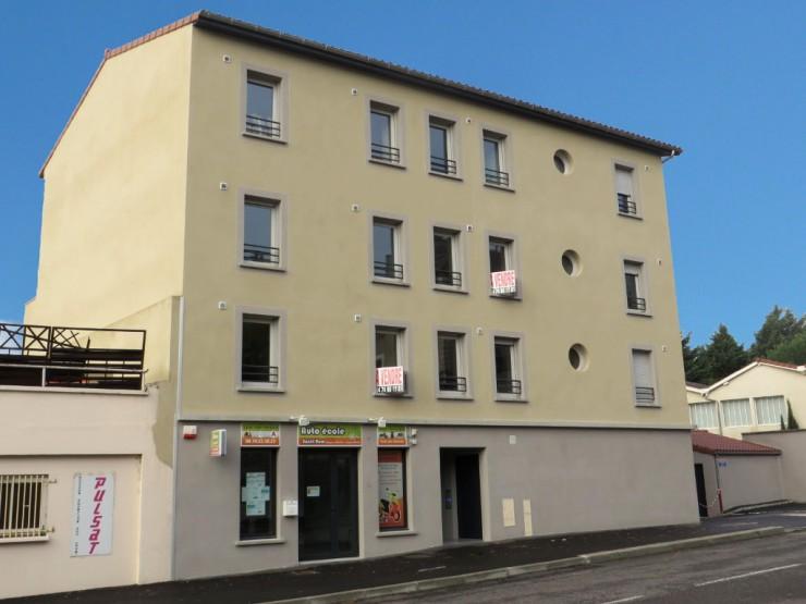 Immeuble de logements La Station Vienne (38)