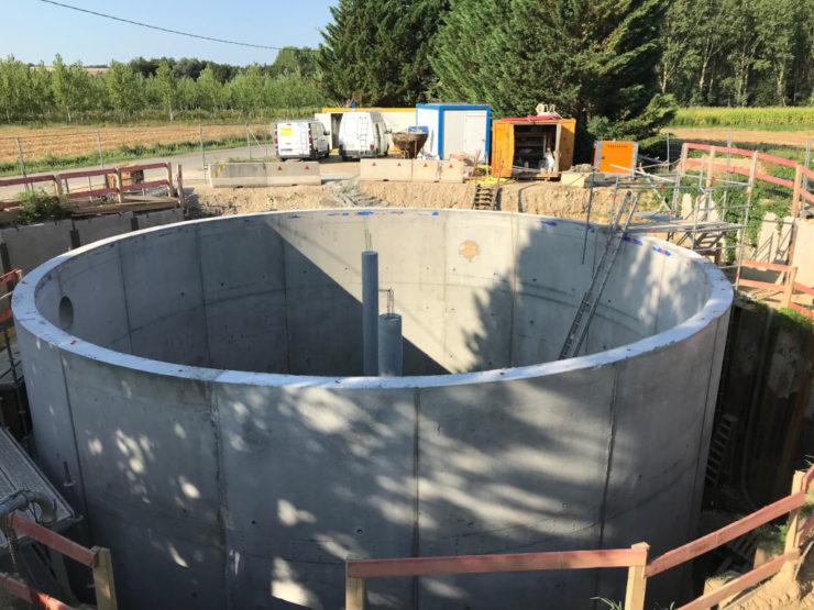 Bassin de stockage et de restitution (BSR) de Luzinay - 2/3